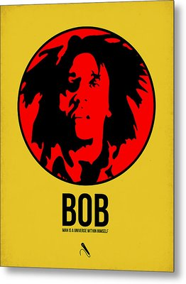 Bob Poster 4 Metal Print by Naxart Studio