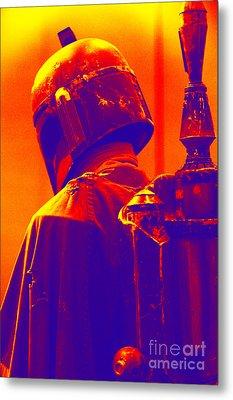 Boba Fett Costume 2 Metal Print