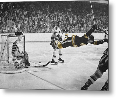 Bobby Orr 2 Metal Print by Andrew Fare