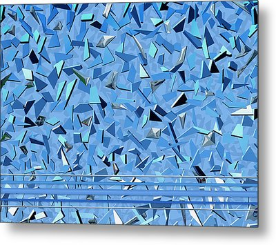 Bobby Sings The Blues Metal Print by Wendy J St Christopher