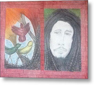 Bob's 3 Little Birds Metal Print by Michele Moore
