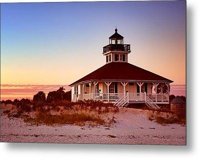 Boca Grande Lighthouse - Florida Metal Print by Nikolyn McDonald