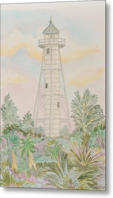 Boca Grande Lighthouse Metal Print