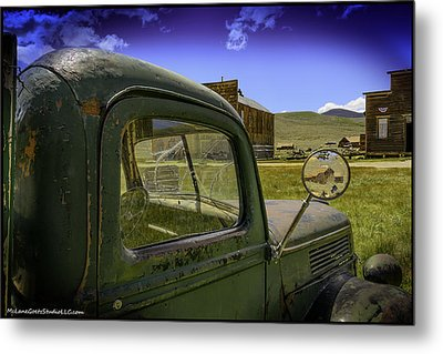 Bodie California Leaving The Dust Behind Metal Print