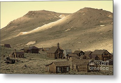 Metal Print featuring the photograph Bodie California by Nick  Boren