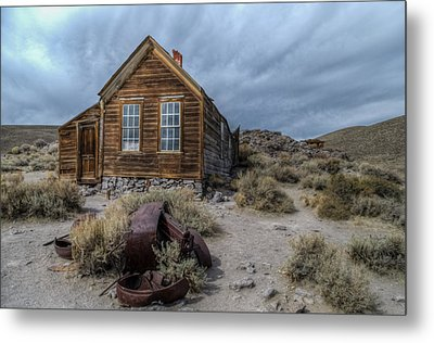 Bodie Fixer Metal Print by Mike Ronnebeck