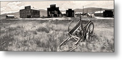 Bodie Ghost Town - 03 Metal Print by Gregory Dyer