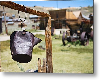 Metal Print featuring the photograph Bodie Ghost Town 2 - Old West by Shane Kelly