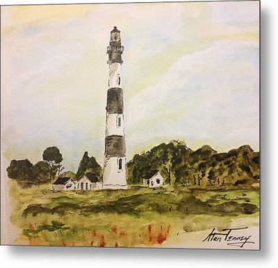 Bodie Island Light Metal Print