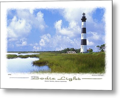 Bodie Light  S P Metal Print by Mike McGlothlen