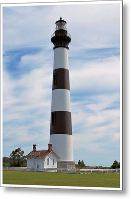 Metal Print featuring the photograph Bodie Lighthouse by Bob Sample
