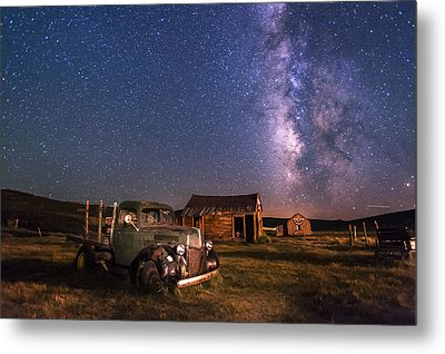 Bodie Nights Metal Print by Cat Connor