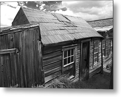 Metal Print featuring the photograph Bodie Row House by Jim Snyder