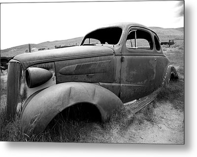 Metal Print featuring the photograph Bodie Yard Art by Jim Snyder