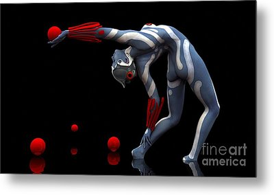 Body In Motion Metal Print