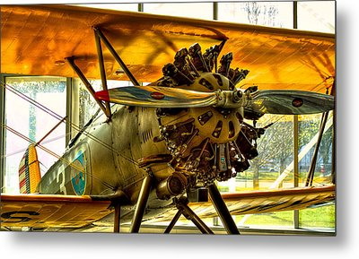 Boeing 100p Fighter Metal Print