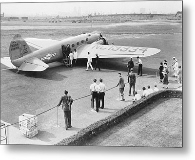 Boeing 247 Airliner, 1930s Metal Print by Science Photo Library