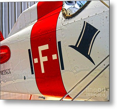 Boeing Fighter 4b-1 -  Close Up Metal Print by Gregory Dyer