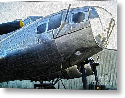 Boeing Flying Fortress B-17g  -  01 Metal Print by Gregory Dyer