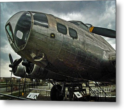 Boeing Flying Fortress B-17g  -  03 Metal Print by Gregory Dyer