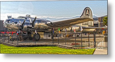Boeing Flying Fortress B-17g  -  05 Metal Print by Gregory Dyer