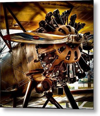 Boeing Model 100 Metal Print by David Patterson