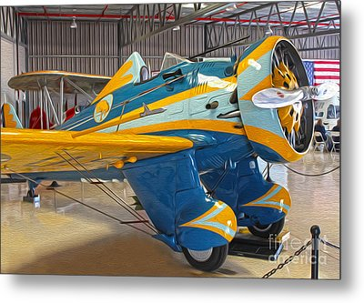 Boeing Peashooter P-26a  -  03 Metal Print by Gregory Dyer