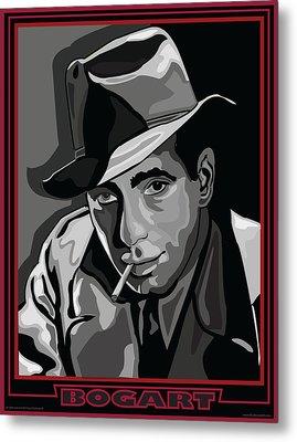 Bogart Metal Print by Larry Butterworth