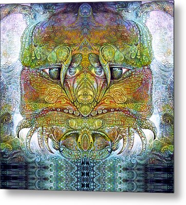 Metal Print featuring the digital art Bogomil Variation 11 by Otto Rapp