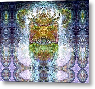 Metal Print featuring the digital art Bogomil Variation 15 by Otto Rapp
