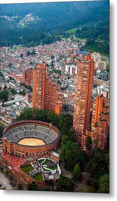 Bogota View Metal Print by Jess Kraft