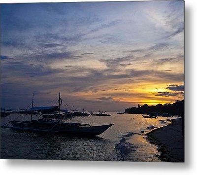 Bohol Sunset Metal Print