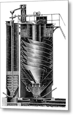 Boiler Water Purification Metal Print by Science Photo Library