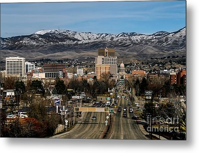 Boise Idaho Metal Print by Robert Bales