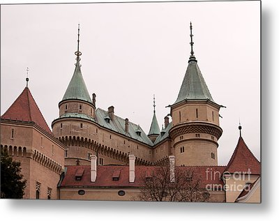 Metal Print featuring the photograph Bojnice Castle by Les Palenik