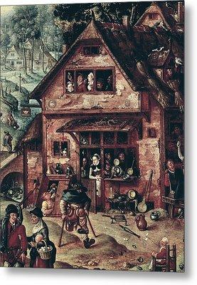 Bol, Hans 1534-1593 Bol, Hans Metal Print by Everett
