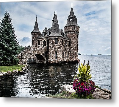 Boldt's Castle Tower Metal Print by Debbie Green