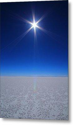 Bolivian Salt Metal Print by FireFlux Studios