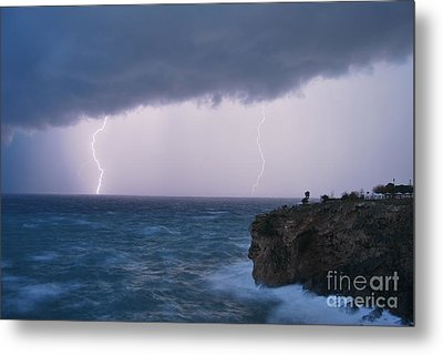 Bolts On The Water Metal Print