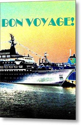 Bon Voyage Metal Print by Will Borden