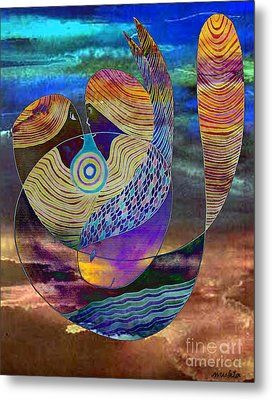 Bonded In Harmony Metal Print by Mukta Gupta