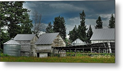 Bonners Ferry Farm Metal Print