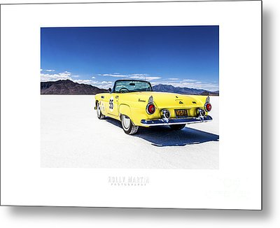 Bonneville T-bird Metal Print