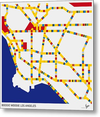 Boogie Woogie Los Angeles Metal Print