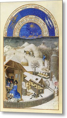 Book Of Hours: February Metal Print by Granger
