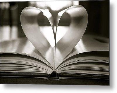 Book Of Love Metal Print by Jennifer Lamanca Kaufman