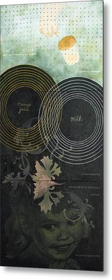 Book Of Love Metal Print by Sandra Cohen