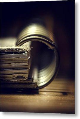 Book Of Secrets Metal Print