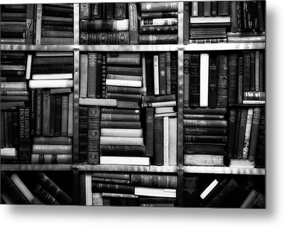 Books Metal Print by Takeshi Okada