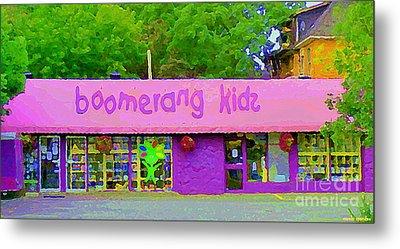 Boomerang Kids Baby Store Kiddies Clothing Consignment Shop The Glebe Paintings Of Ottawa C Spandau Metal Print